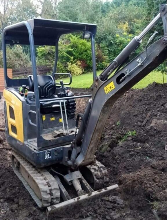 Mini Digger Hire Newcastle, Gateshead, Blaydon & surrounding areas