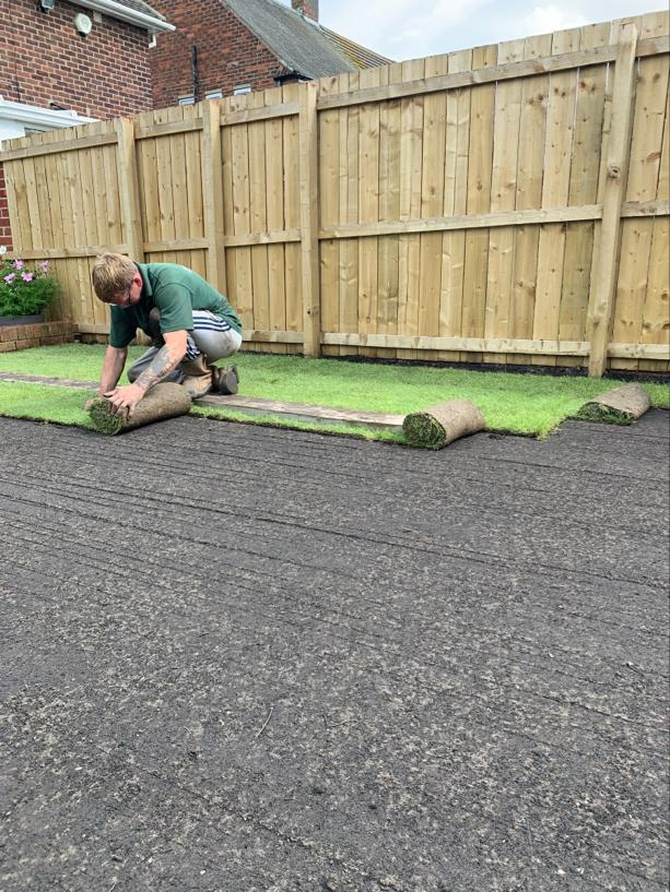 top soil & turf laying Newcastle, Gateshead, Blaydon